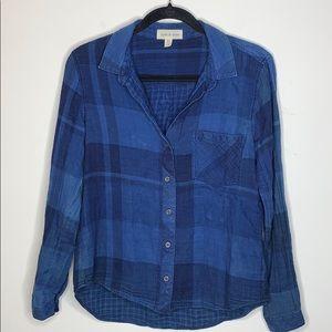 Anthropologie Cloth&Stone Flannel